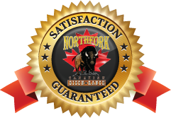 Northfork Satisfaction guarantee label