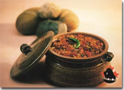 Three-Bean Chilli with Bison