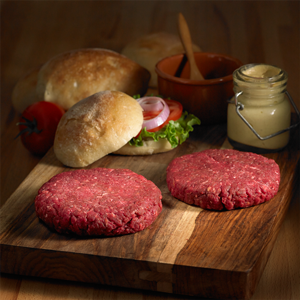 pure bison burgers