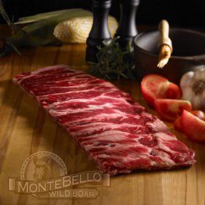 Wild Boar Back Ribs Montebello