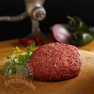 Ground Elk Meat