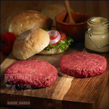 Hamburgers de Bison