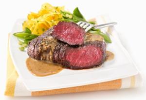 ostrich steak