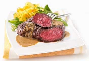 Steak d'autruche