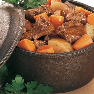 Wild boar stew recipe from Northfork Bison