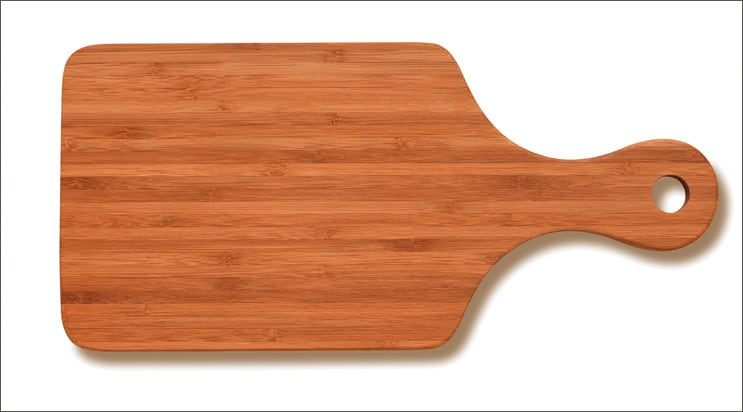 bamboo cutting board is best for cutting meat