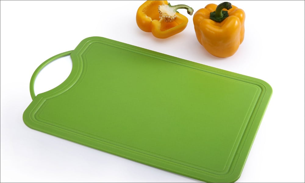 green plastic cutting board not best for meat prep