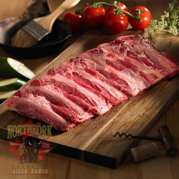 bison back ribs