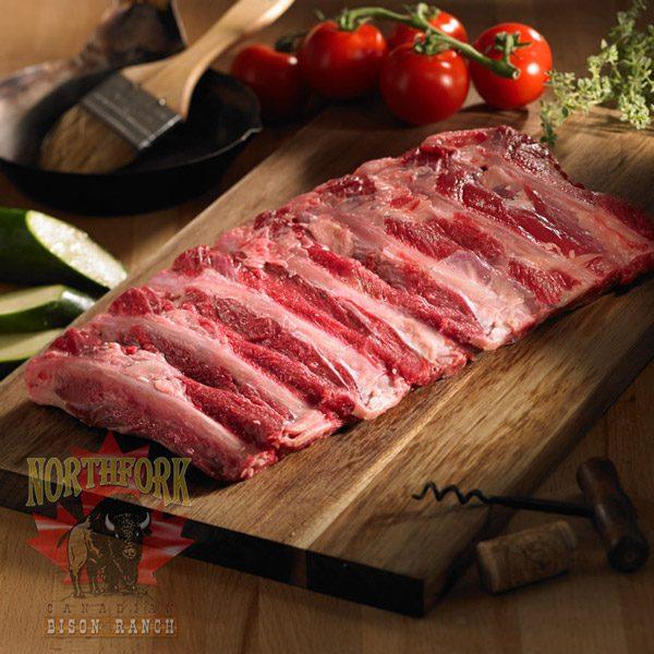 bison back ribs