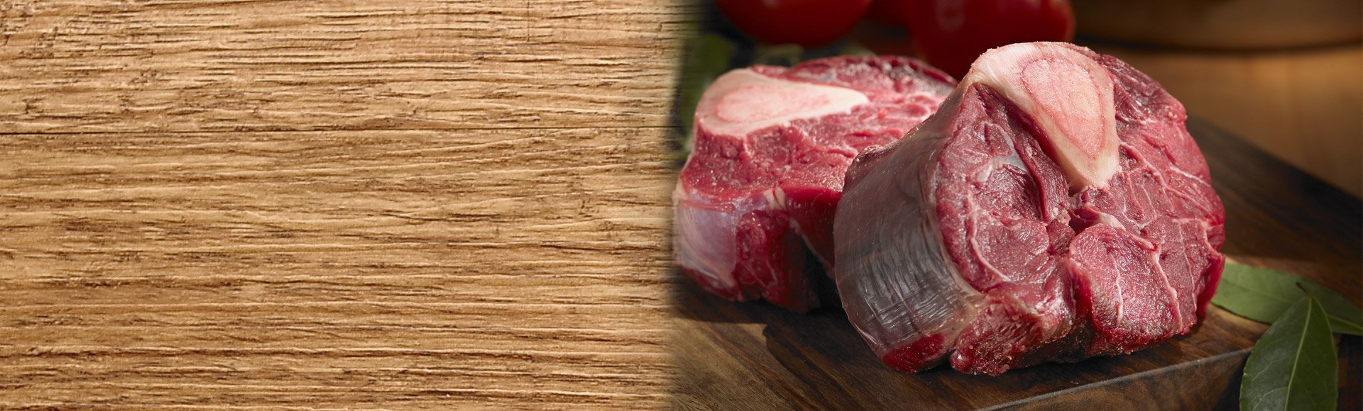 bison osso buco 2 pieces raw